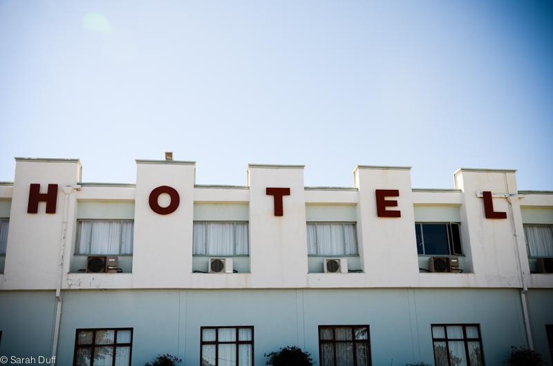 Cool hotel Namibia