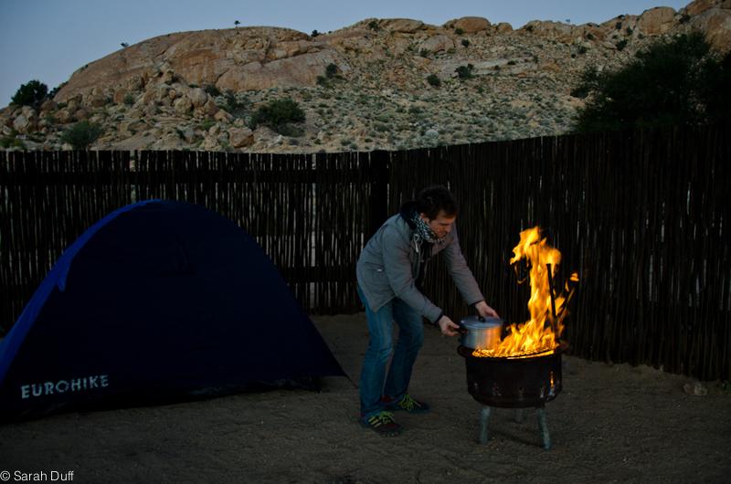 Campfire Namibia
