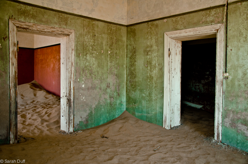 Kolmanskop, ghost town, Namibia