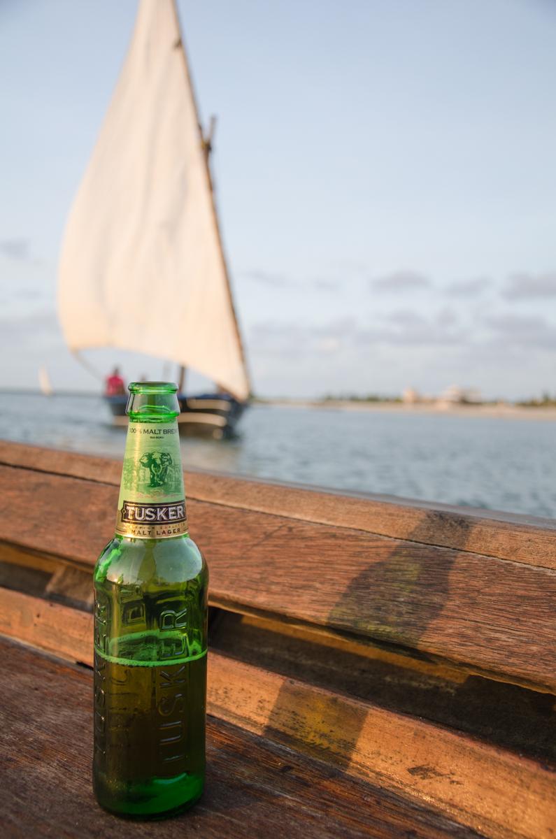 Tusker beer, Lamu Island, Kenya