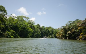 Arriving in Tortuguero National Park, Costa Rica