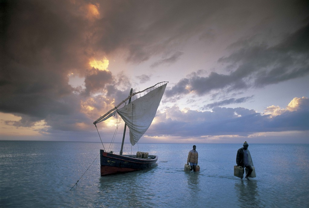 Justin Fox, dhow, Mozambique