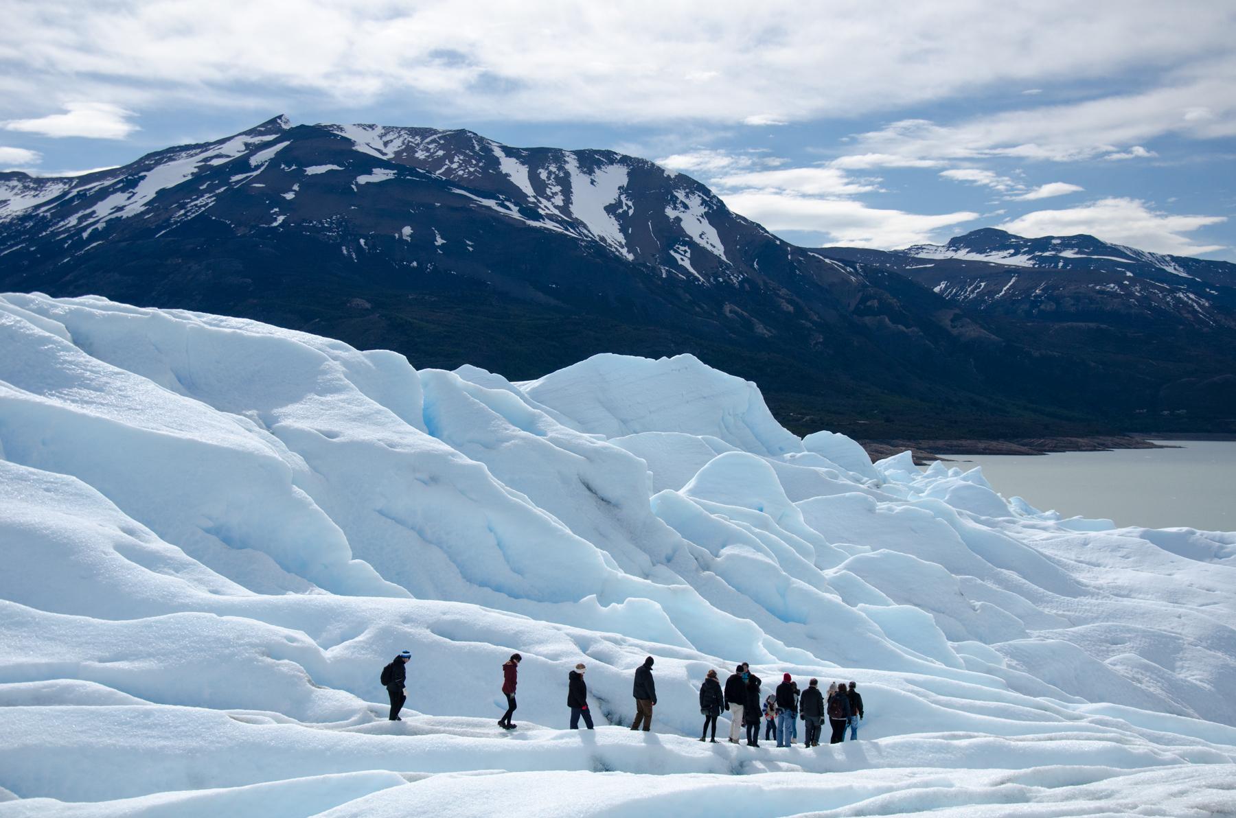 Perito Moreno glacier trekking, El Calafate, Patagonia