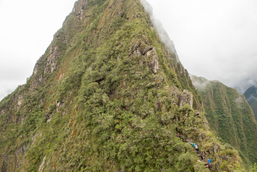 Hiking Wayna Picchu