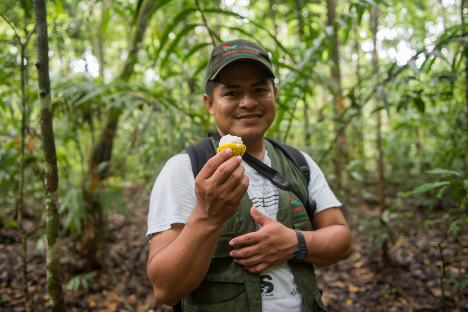 Our guide at Madidi Jungle Ecolodge, Orlando