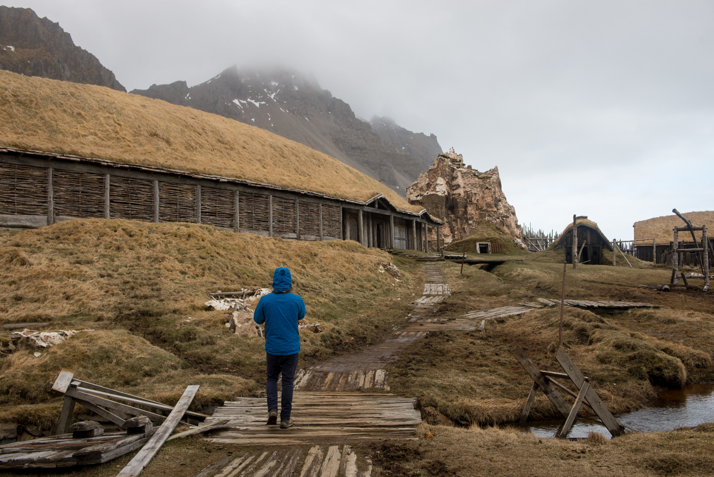 Abandoned Viking village, Iceland