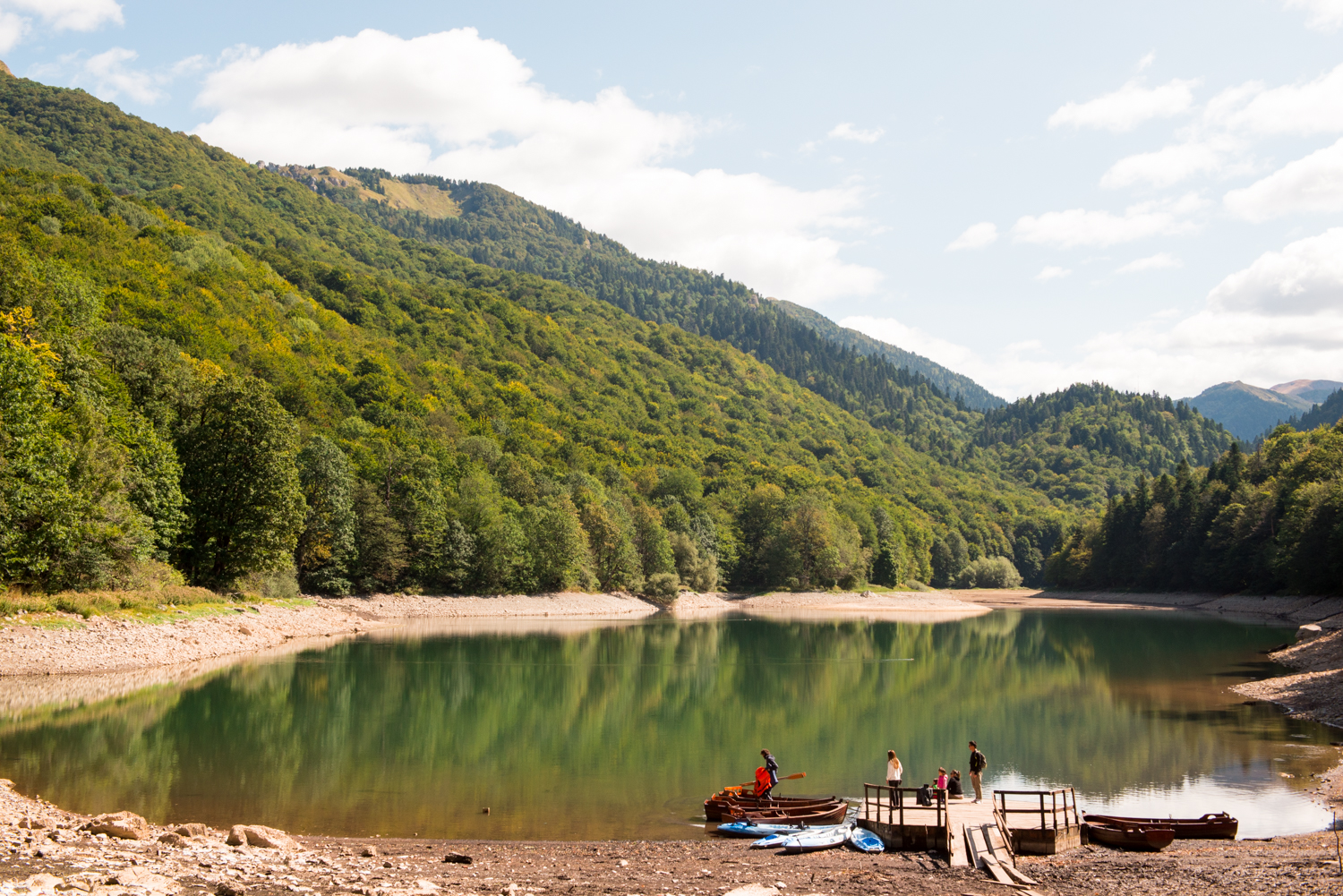 Lake at Biogradska Gora National Park